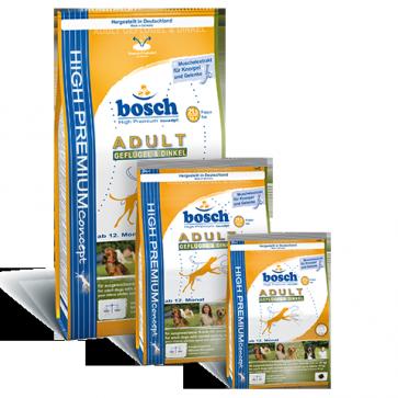 Bosch, Adult Poultry & Spelt, dla psów dorosłych, z drobiem i orkiszem