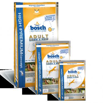 Bosch, Adult Lamb & Rice, dla psów dorosłych, z jagnięciną i ryżem