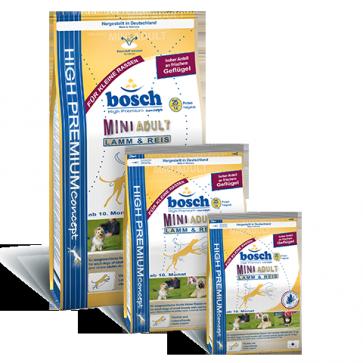 Bosch, Mini Adult Lamb & Rice, dla psów dorosłych małych ras, z jagnięciną i ryżem