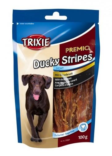 Trixie, Ducky Stripes, przysmak dla psa z kaczką, 100g