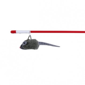 Trixie, Myszka na wędce, z dźwiękiem i kocimiętką
