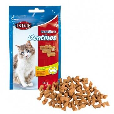 Trixie, Denta Fun Dentinos, przysmak dentystyczny dla kota, 50g