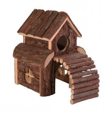 Trixie, Finn, Drewniany domek dla myszy lub chomika