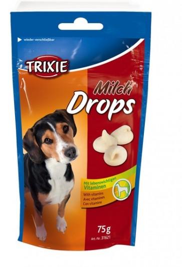 Trixie, Dropsy mleczne dla psa, różne opakowania