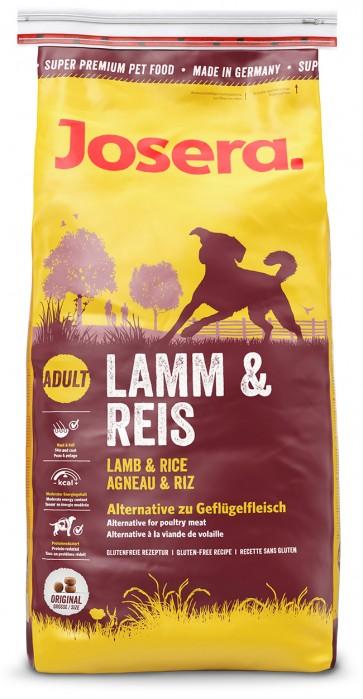 Josera, Lamb & Rice, karma dla dorosłych psów