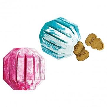 KONG Activity Ball Puppy, zabawka gumowa na przysmaki dla szczeniąt