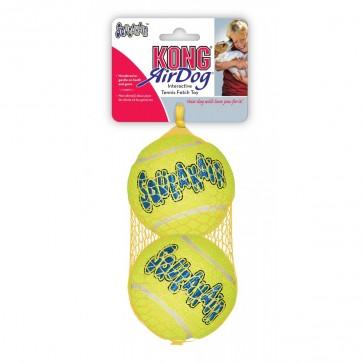 KONG AirDog Squeaker, Piłka tenisowa L, 2 sztuki