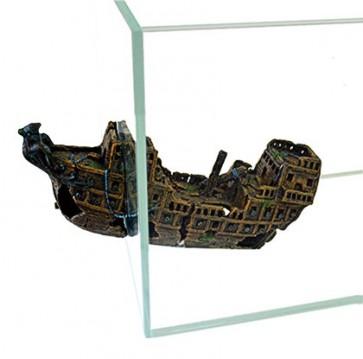 Happet, Statek, ozdoba akwariowa
