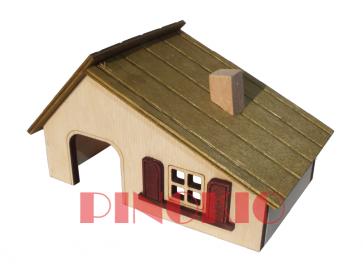 Pinokio, Domek drewniany (13,5cm)