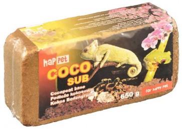 Happet, Coco Sub, torf kokosowy, brykiet 650g