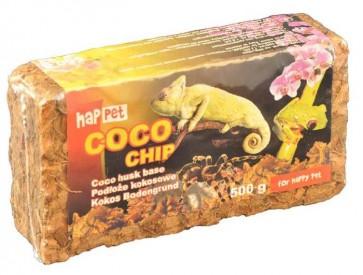 Happet, Coco Chip, wióry kokosowe, brykiet 500g