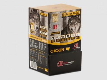 Alpha Spirit, Paluszki dla psów, przysmak bez zbóż, z kurczakiem, 16 sztuk