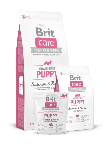 Brit Care, Puppy, Grain - Free, Salmon & Potato