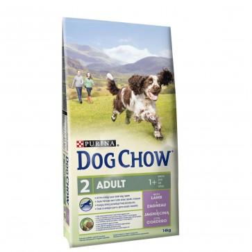 Purina, Dog Chow, Lamb & Rice, z jagnięciną i ryżem
