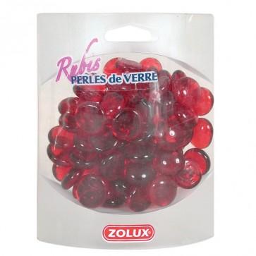 Zolux, Rubin, perełki szklane