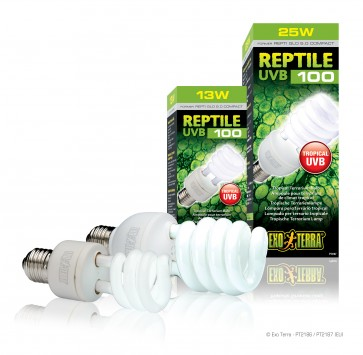 Exo-Terra, Reptile UVB 100, do terrarium tropikalnego
