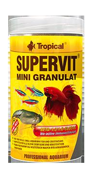 Tropical, Supervit Mini Granulat, pokarm dla wszystkich ryb tropikalnych