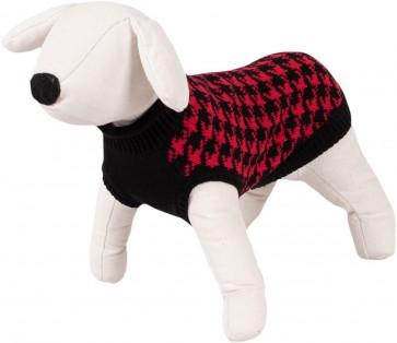 Happet, Sweter czerwony / czarny