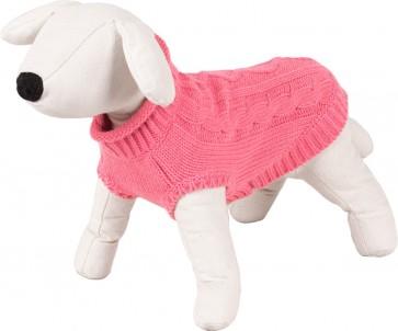 Happet, Sweter różowy / warkocz