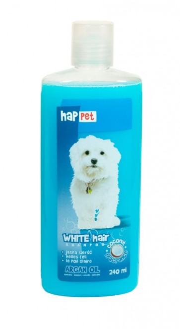 Happet, Szampon dla psów jasnowłosych i białych, 240ml