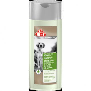 8IN1 Tea Tree Shampoo, Szampon dla psów z olejkiem drzewa herbacianego, 250ml