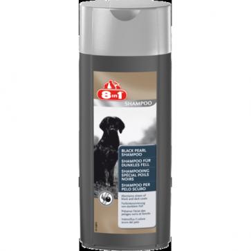 8IN1 Black Pearl Shampoo, Szampon dla psów o ciemym umaszczeniu, 250ml