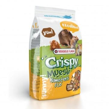 Versele-Laga, Crispy Muesli Hamsters & Co, pokarm dla chomików, szczurów i myszy