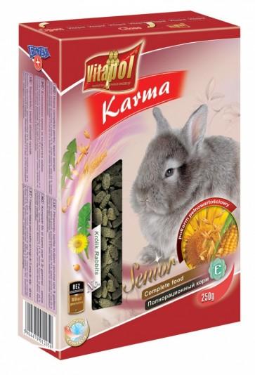 Vitapol, Senior, Pokarm dla starszych królików, karton 250g