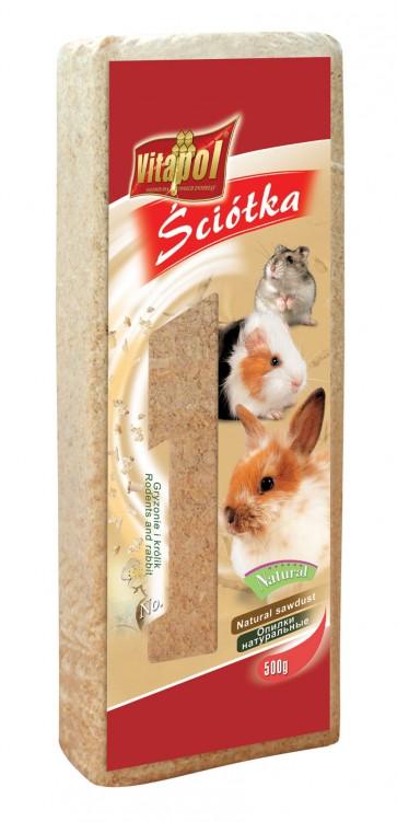 Vitapol, Trociny dla gryzoni i królików, bezapachowe, różne opakowania