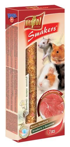 Vitapol, Smakers, Kolba dla gryzoni, serowy, 2 sztuki