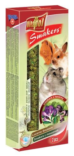 Vitapol, Smakers, Kolba dla gryzoni i królików, lucerna, 2 sztuki