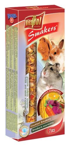 Vitapol, Smakers, Kolba dla gryzoni i królików, jogurtowo-mniszkowa, 2 sztuki