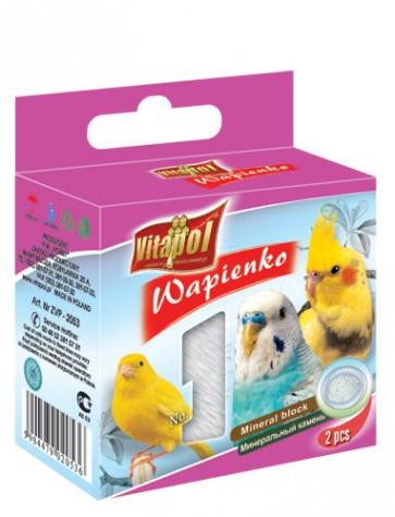 Vitapol, Wapienko dla ptaków, naturalne, 1 sztuka 40g