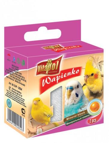 Vitapol, Wapienko dla ptaków, pomarańczowa, 1 sztuka 35g