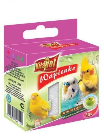 Vitapol, Wapienko dla ptaków, jabłkowa, 1 sztuka 35g