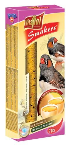 Vitapol, Smakers, Kolba dla zeberki, jajeczna, 2 sztuki