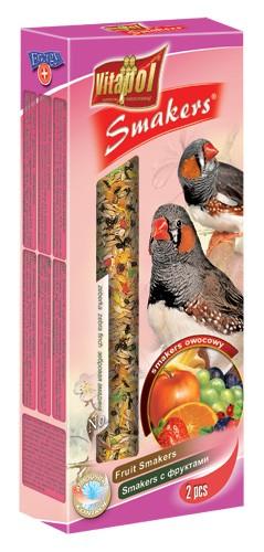 Vitapol, Smakers, Kolba dla zeberki, owocowa, 2 sztuki