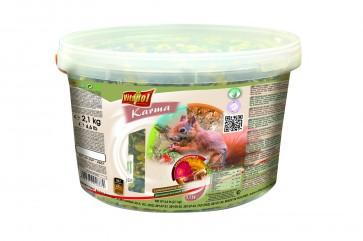 Vitapol, Pokarm dla dzikich wiewiórek, wiaderko 3L