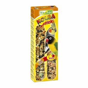 Nestor, Kolba 2w1 jajeczna i owocowa, dla średnich papug, 2 sztuki