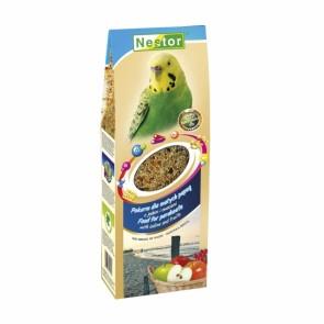 Nestor, Smaki Świata, Pokarm dla małych papug z jodem i owocami, 700ml