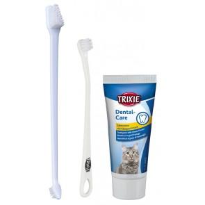 Trixie, Zestaw do pielęgnacji zębów dla kotów