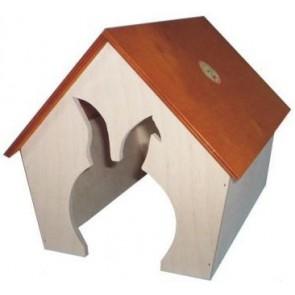 Pinokio, Domek dla królika, duży, dwuspadzisty