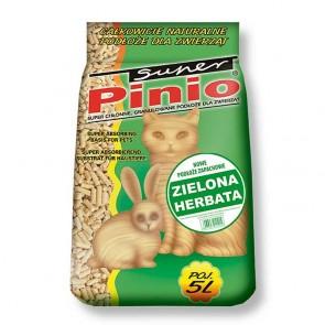 Pinio, Zielona herbata, żwirek drewniany