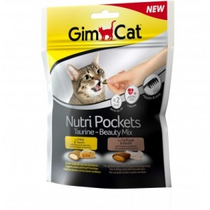 GimCat, Nutri Pockets, Taurine-Beauty Mix