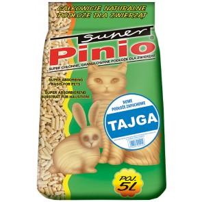 Pinio, Tajga, żwirek drewniany