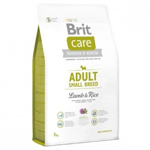 Brit Care, Adult Small Breed, Lamb&Rice