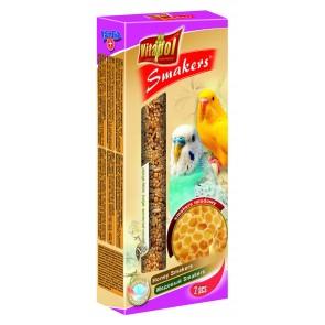 Vitapol, Smakers, Kolba dla papużki falistej, miodowa, 2 sztuki