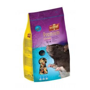 Vitapol, Premium, Pokarm dla szczurów, 750g