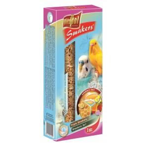Vitapol, Smakers 3w1, Kolba dla papużki falistej, 3 sztuki