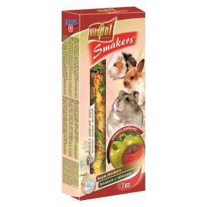 Vitapol, Smakers, Kolba dla gryzoni, jabłkowy, 2 sztuki